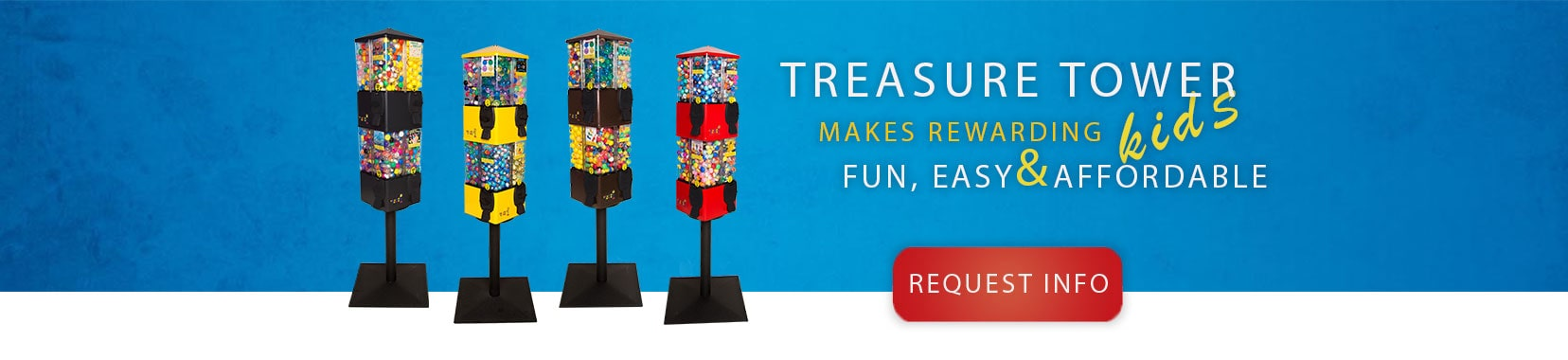Treasure Tower makes rewarding kids, fun, easy and affordable.
