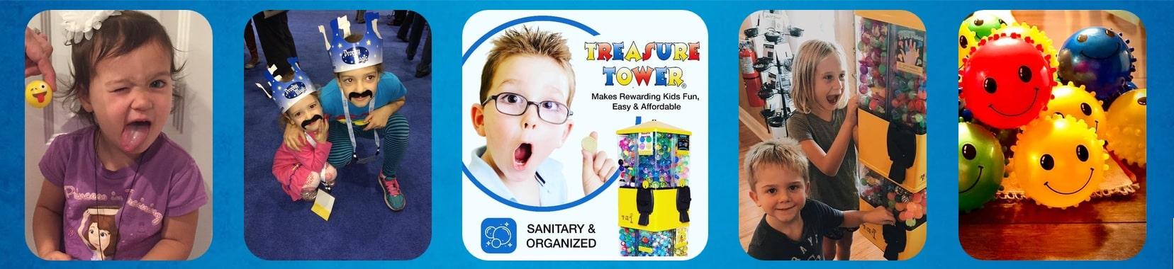 Treasure Tower Rewards Sanitary and Organized